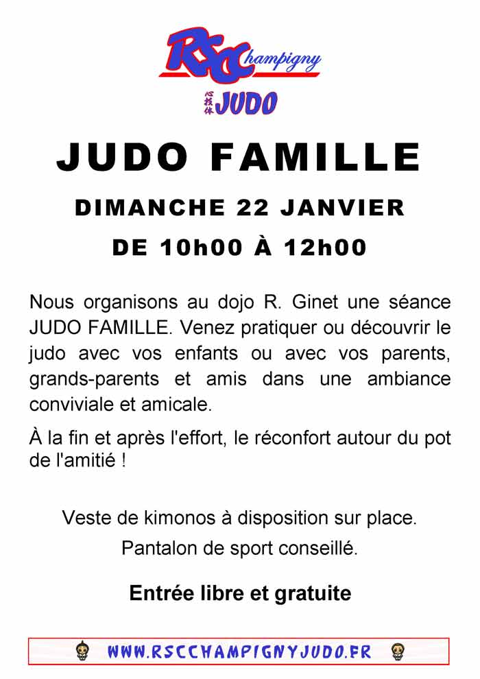 Judo Famille